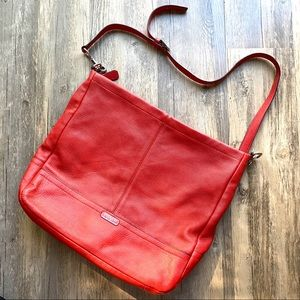 Coach Park Coral Leather Hobo